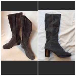 3dc272483f9 EUC Sears Vintage 1970s suede calf boots